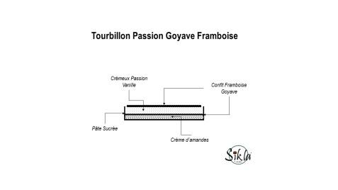 Tarte Passion Goyave Framboise